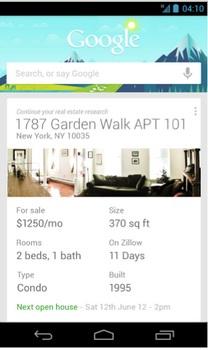 googlenow househunt