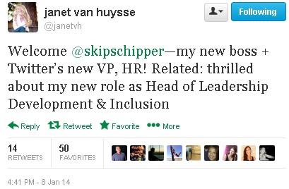 Twitter tweets new HR head, former Grouponer