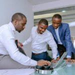 Jobberman Founders (L-R): Olalekan Elude, Opeyemi Awoyemi and Ayodeji Adewunmi