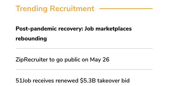 Trending Recruitment News